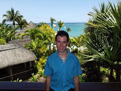 Praktikant auf Mauritius