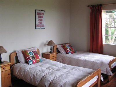 Room at volunteer accommodation