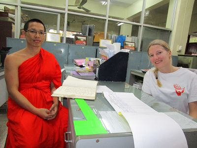 Director of monk school Thailand