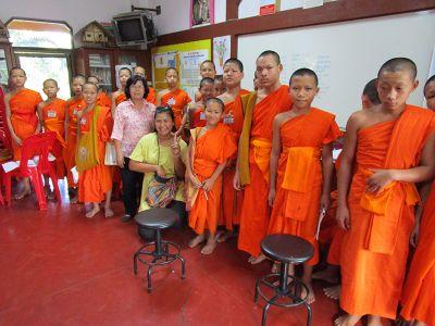 Monk school in Thailand