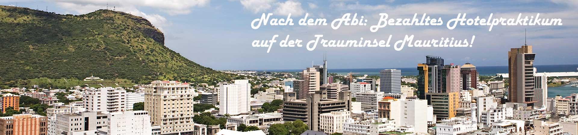 Praktikum für Abiturienten auf Mauritius