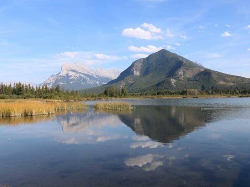 Seelandschaft in Alberta