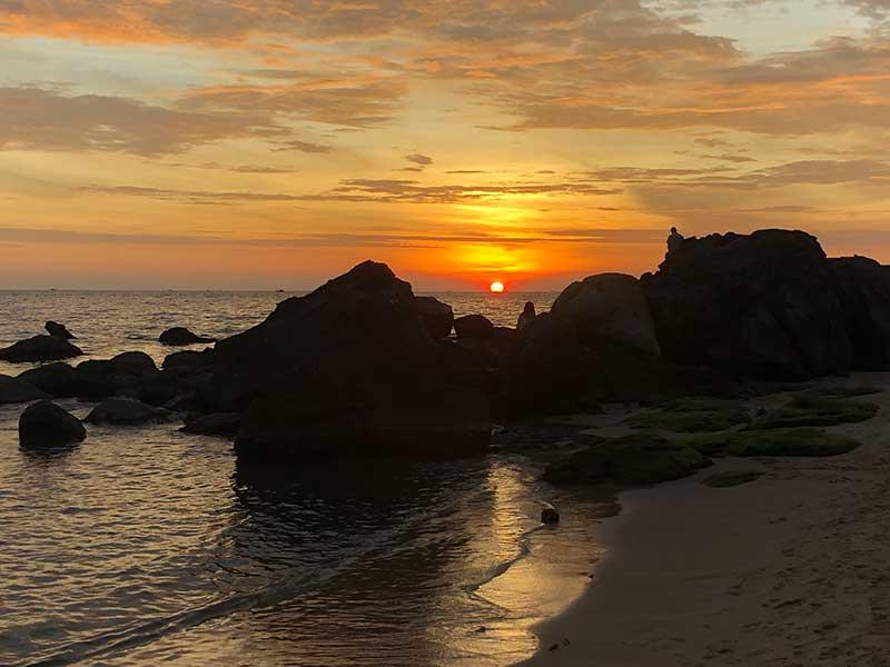 Sonnenuntergang in Vietnam