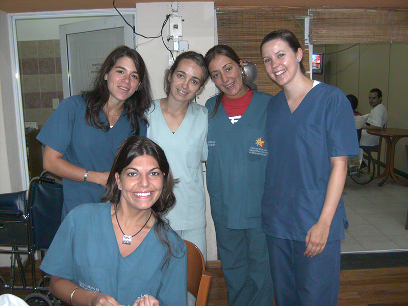 Pflegepersonal in Argentinien